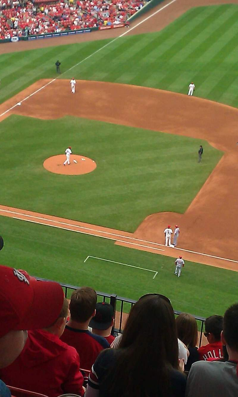 Seating view for Busch Stadium Section 337