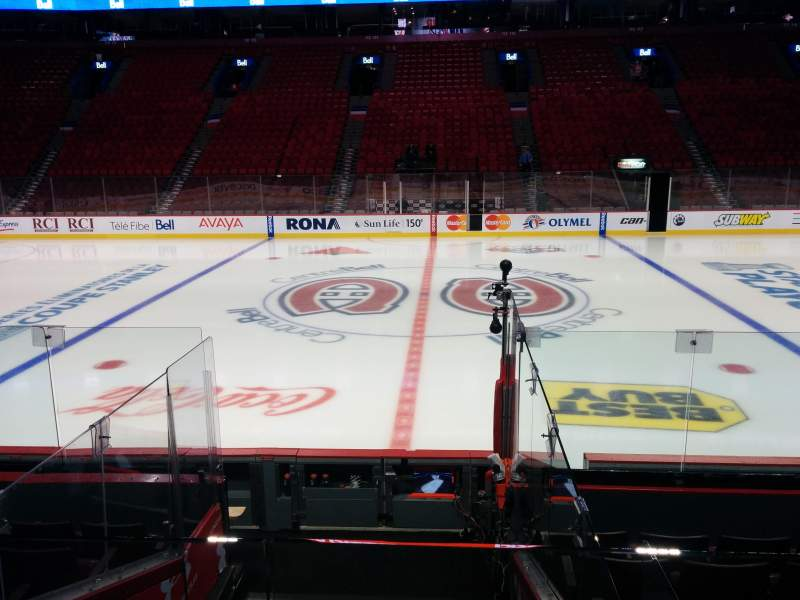 Seating view for Centre Bell Section 101 Row C Seat 7-8