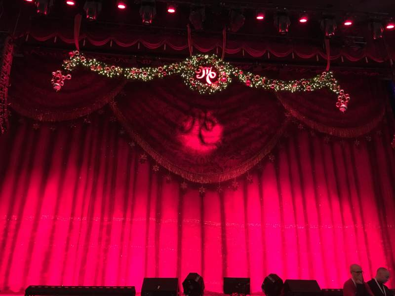 Seating view for Beacon Theatre Section Orchestra Row E Seat 106