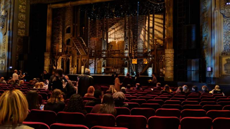 Hollywood Pantages Theatre, section: Orchestra RC, row: Q, seat: 207
