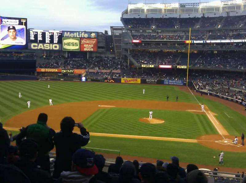 Seating view for Yankee Stadium Section 223 Row 12 Seat 14