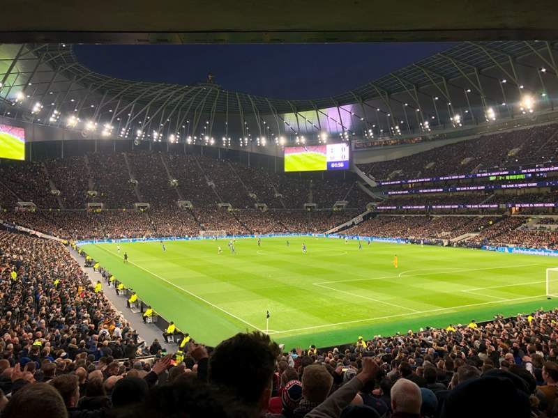 Seating view for Tottenham Hotspur Stadium Section 115 Row 30 Seat 469