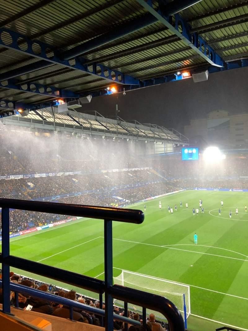Seating view for Stamford Bridge Section Matthew Harding Upper 11 Row K Seat 52