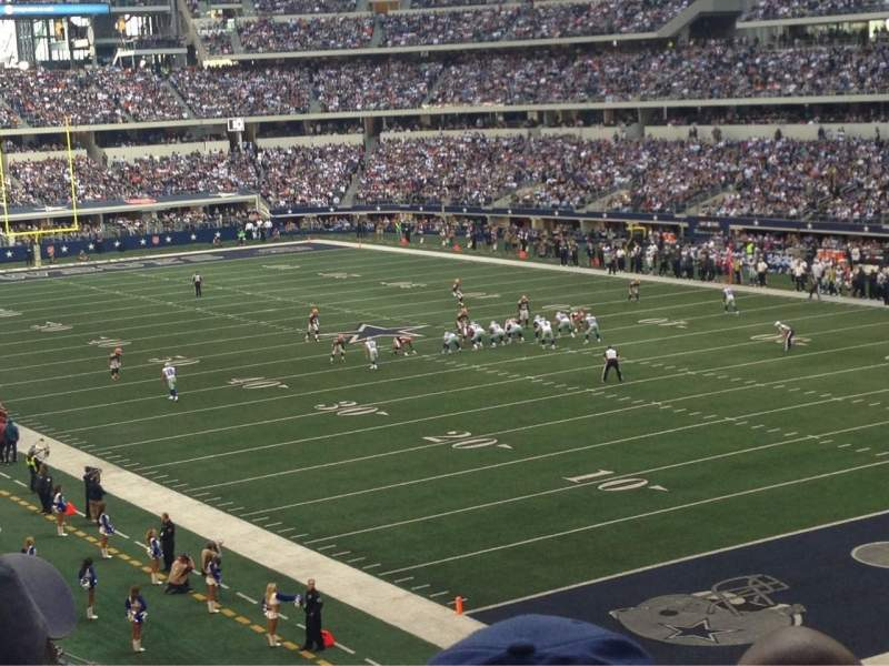 Seating view for AT&T Stadium Section 227 Row 9