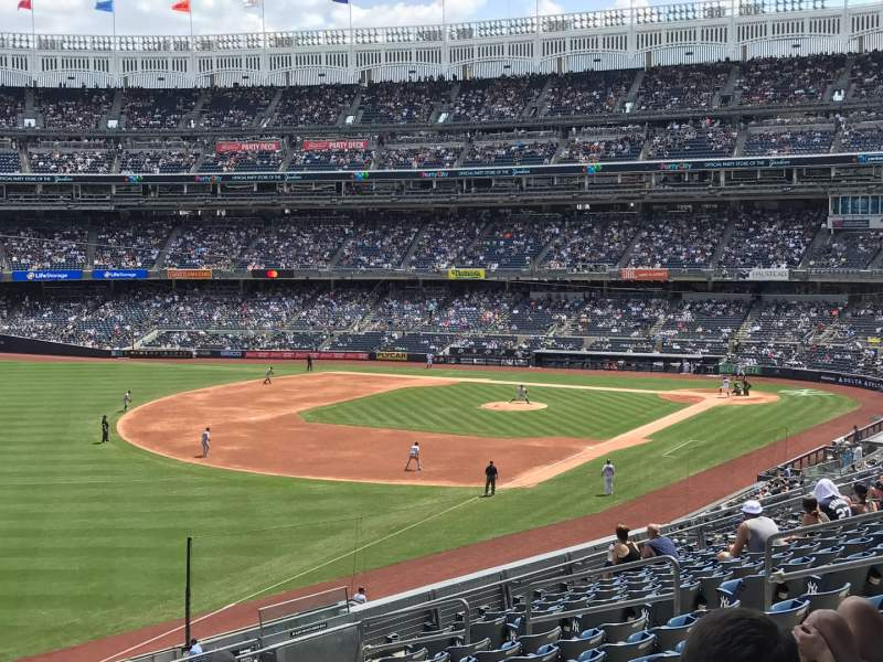 Seating view for Yankee Stadium Section 230 Row 14 Seat 15