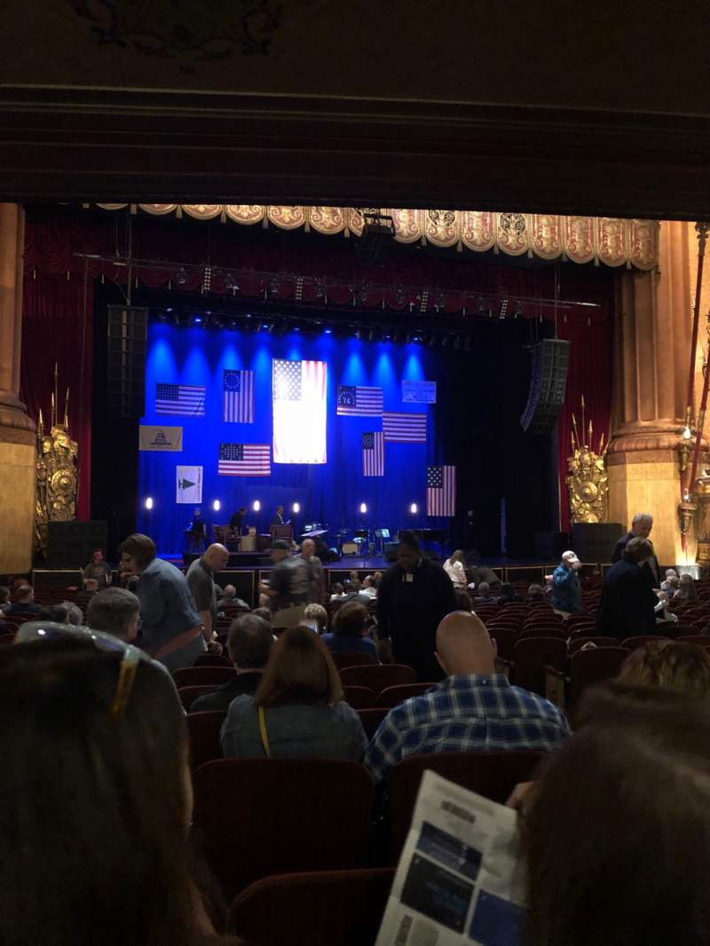 Seating view for Beacon Theatre Section Orchestra C Row T Seat 7