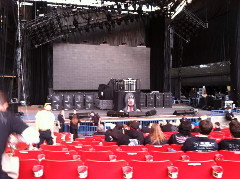 Seating view for Shoreline Amphitheatre Section 102