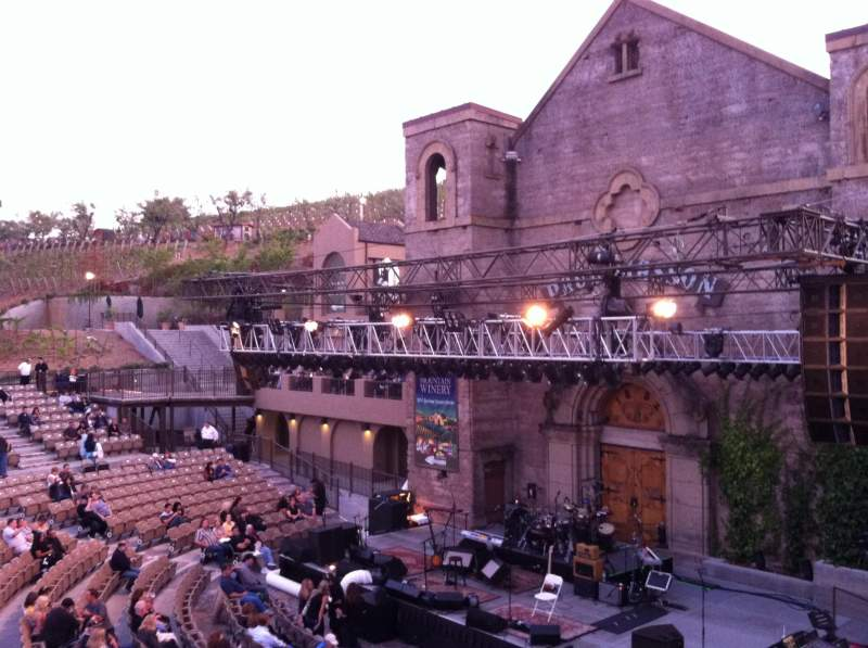 Seating view for Mountain Winery Section 22 Row A Seat 13