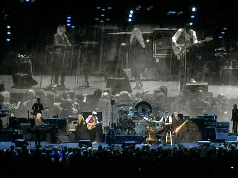 Oracle Arena Section 108 Row 10 Seat 11 Fleetwood Mac