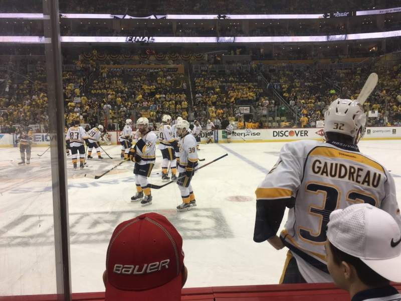 Seating view for PPG Paints Arena Section 112 Row B Seat 2