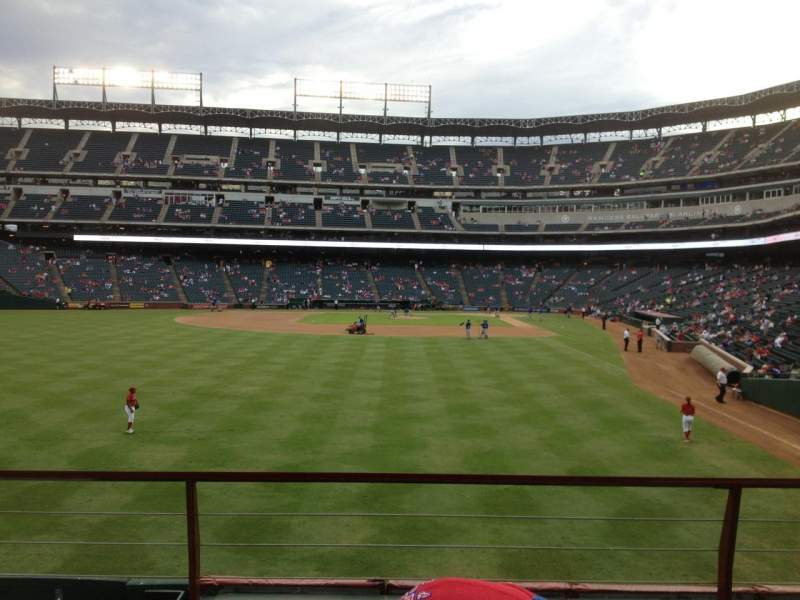 Seating view for Globe Life Park in Arlington Section 7 Row 3 Seat 5