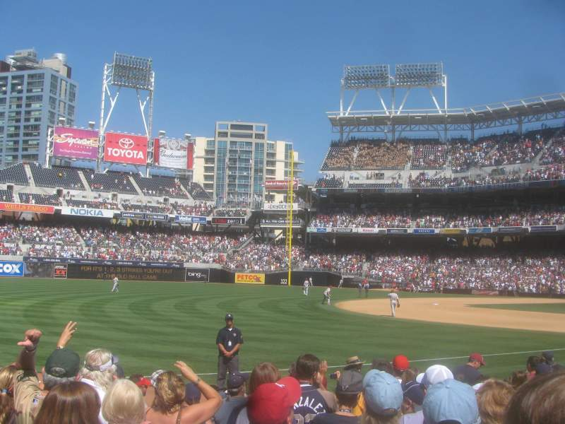 Seating view for Petco Park Section 112