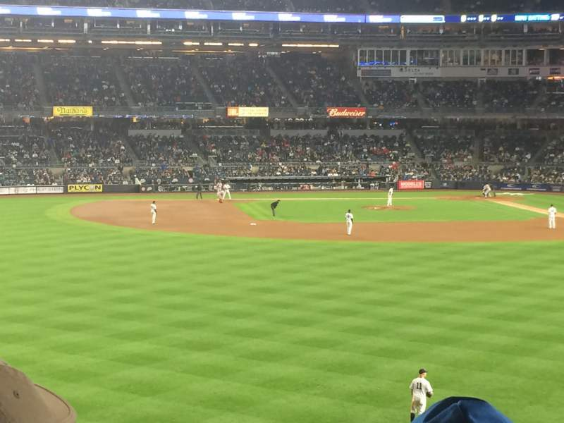 Seating view for Yankee Stadium Section 236