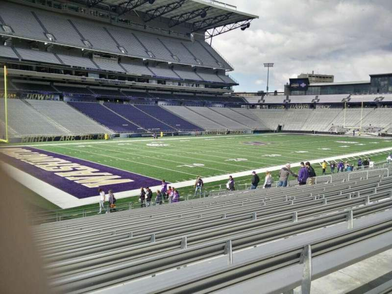 Seating view for Husky Stadium Section 133 Row 20 Seat 28