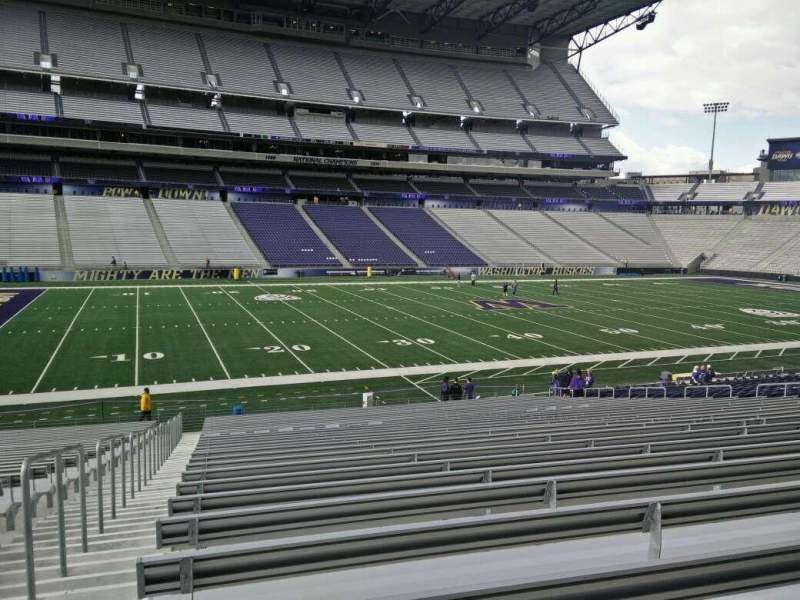 Seating view for Husky Stadium Section 131 Row 29 Seat 29