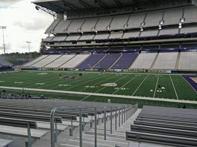 Seating view for Husky Stadium Section 126 Row 29 Seat 29