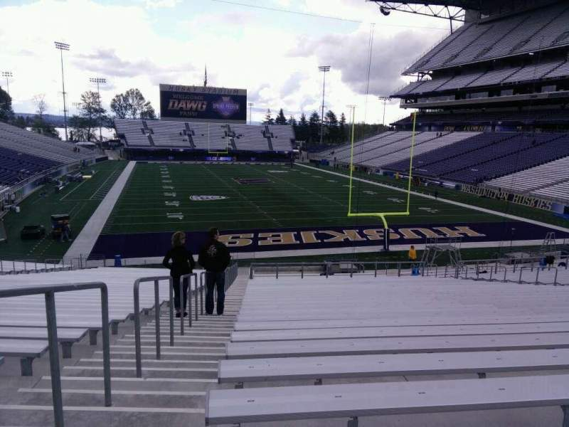 Seating view for Husky Stadium Section 119 Row 35 Seat 25