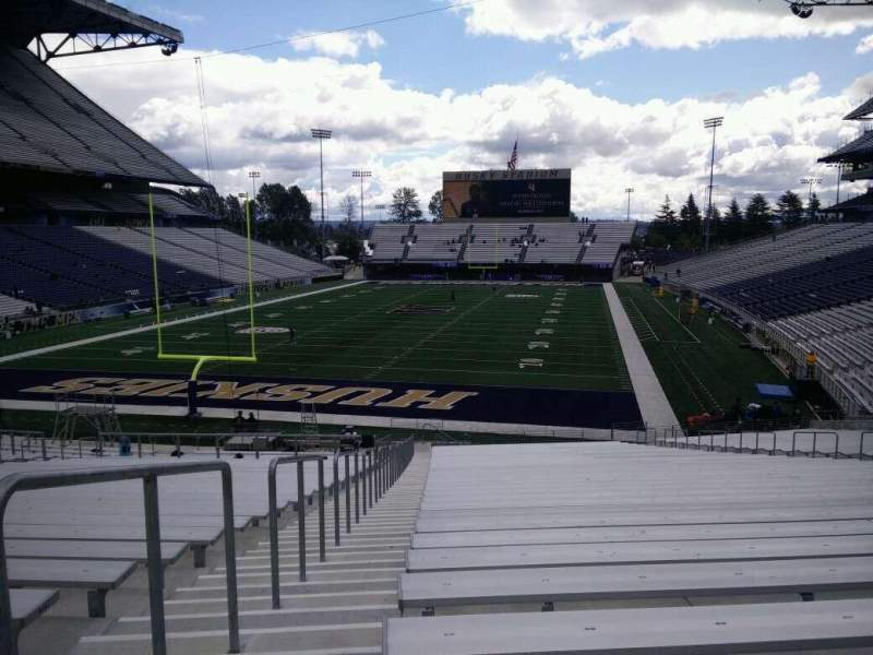 Seating view for Husky Stadium Section 116 Row 35 Seat 25