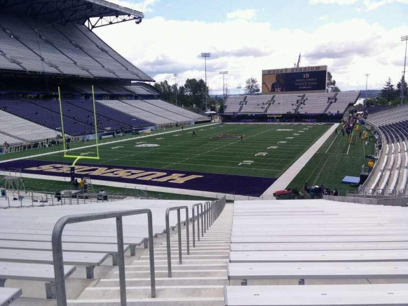 Seating view for Husky Stadium Section 115 Row 35 Seat 25
