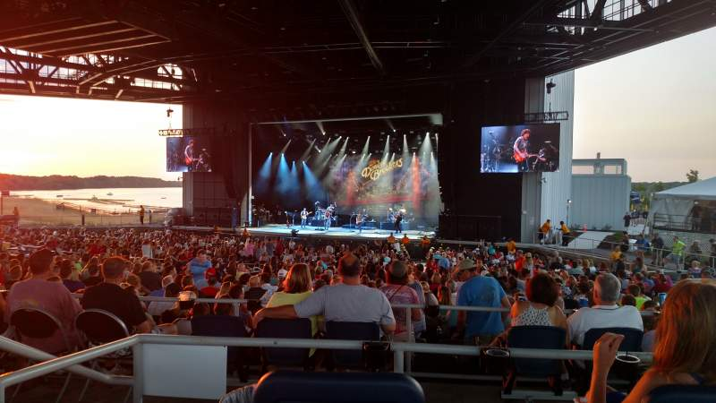 Seating view for Lakeview Amphitheater (Syracuse) Section 306 Row C Seat 3