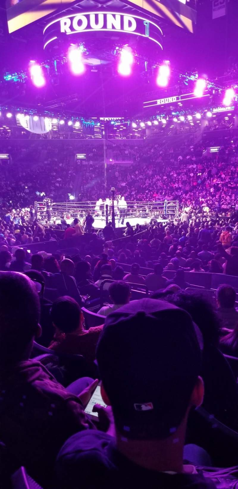 Seating view for Barclays Center Section 6 Row 8 Seat 2