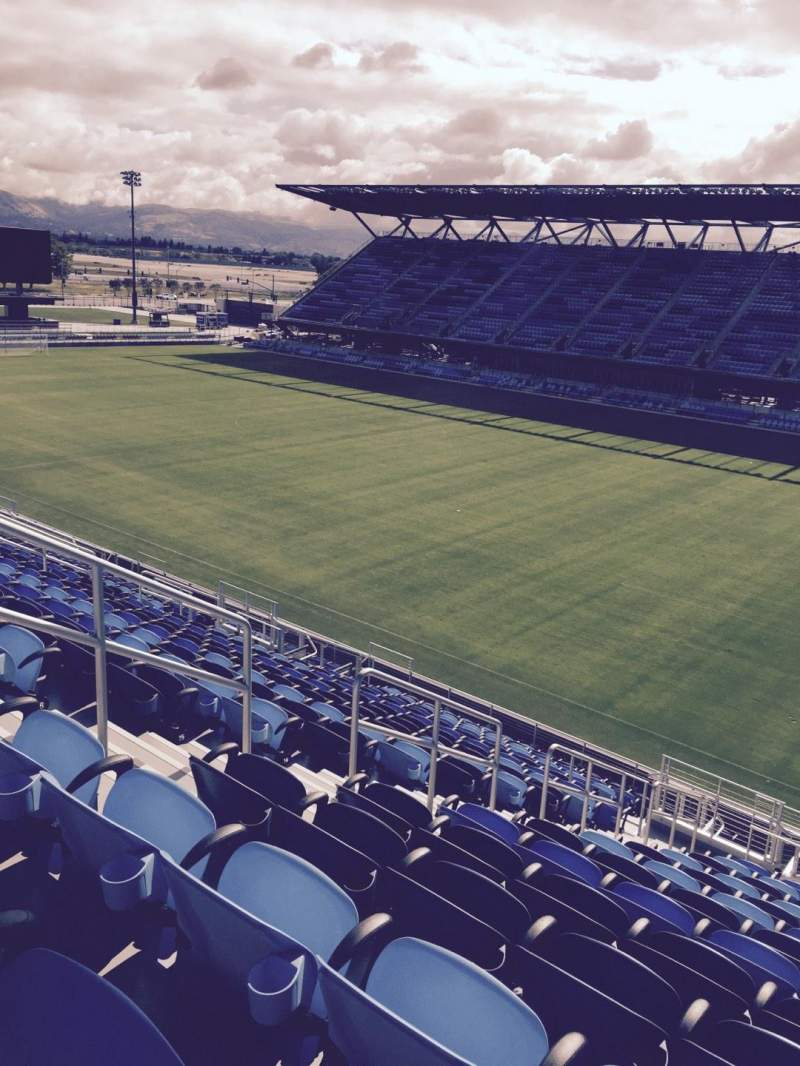 Seating view for Avaya Stadium Section 112 Row 19 Seat 29