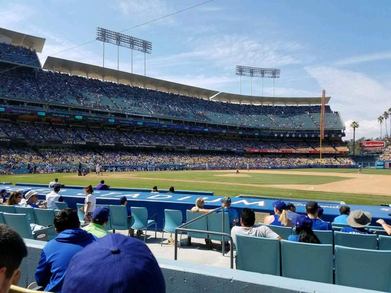 Seating view for Dodger Stadium Section 24FD Row C Seat 4