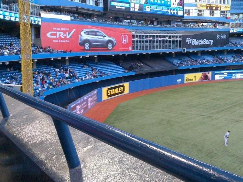 Seating view for Rogers Centre Section 238L Row 1 Seat 105