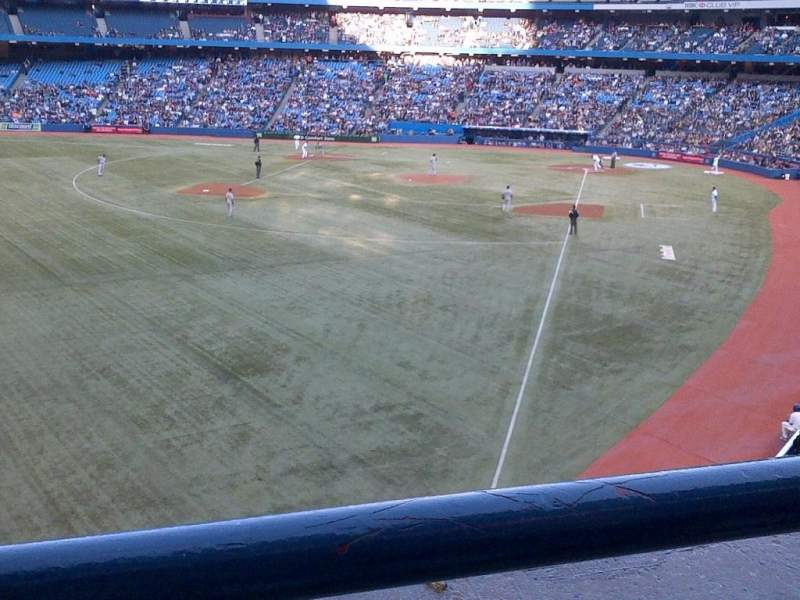 Seating view for Rogers Centre Section 238 Row 1 Seat 105