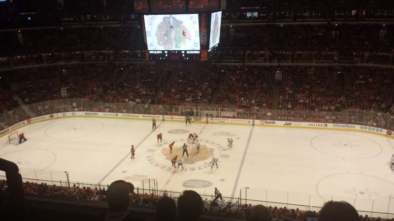 Seating view for United Center Section 333 Row 5