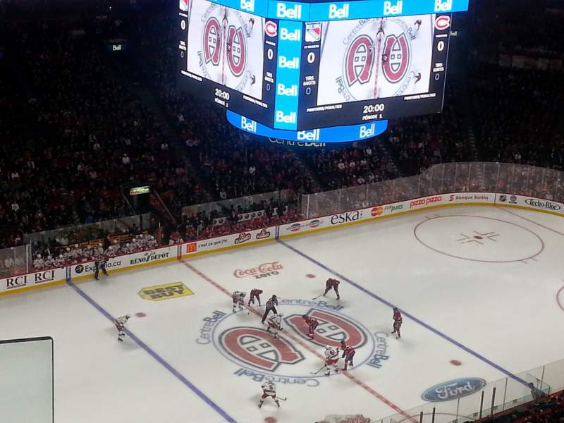 Seating view for Centre Bell Section 305 Row B Seat 10