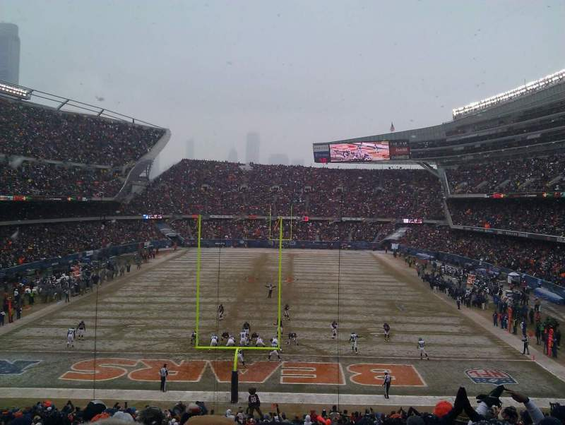 Seating view for Soldier Field Section 222 Row 13 Seat 13