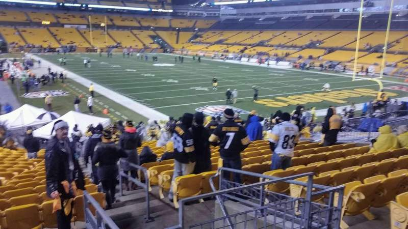Seating view for Heinz Field Section 143 Row N Seat 2