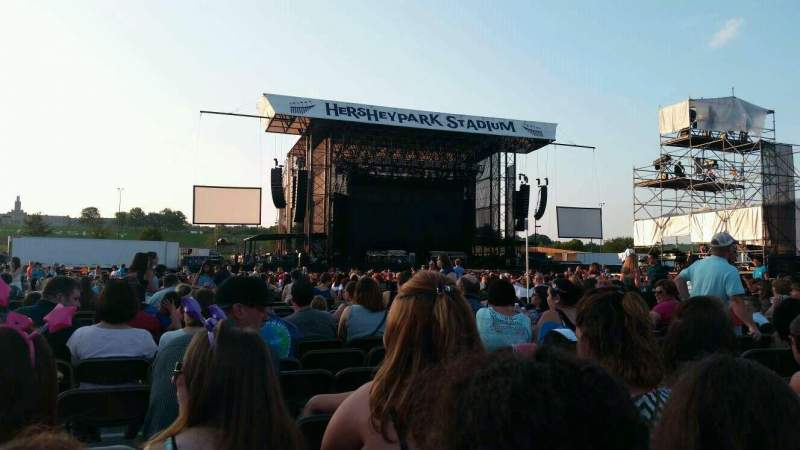 Seating view for Hershey Park Stadium Section G Row 66 Seat 30