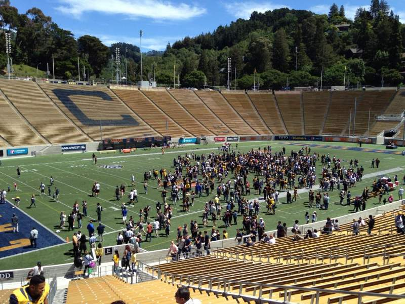 Seating view for California Memorial Stadium Section E Row 37 Seat 10