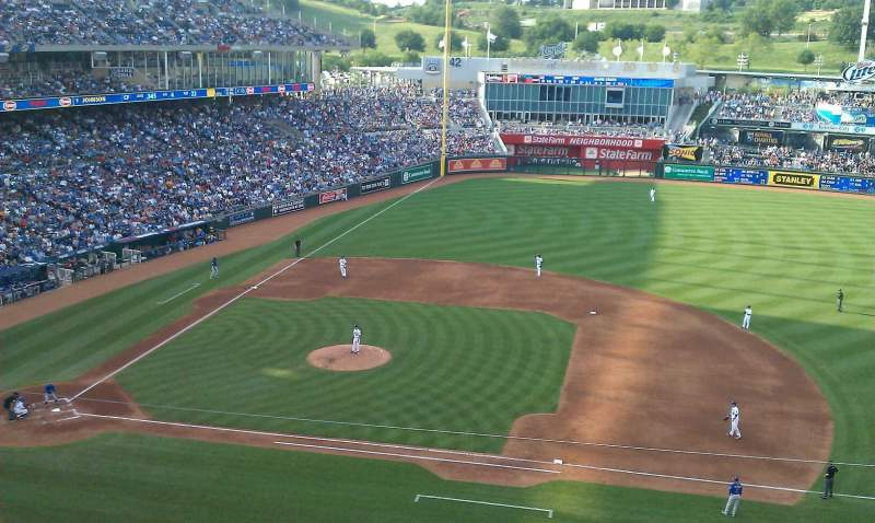 Seating view for Kauffman Stadium Section 429 Row c Seat 20