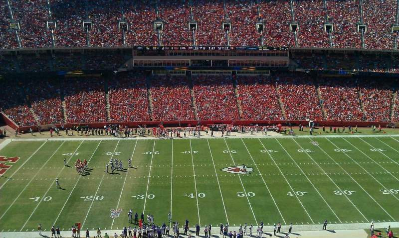 Seating view for Arrowhead Stadium Section 302 Row 23 Seat 12