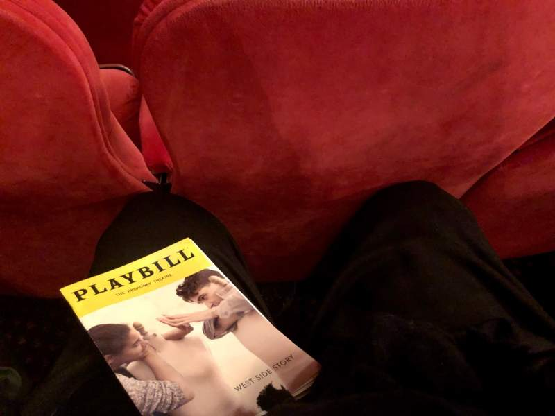 Seating view for Broadway Theatre - 53rd Street Section Orchestra L Row G Seat 10