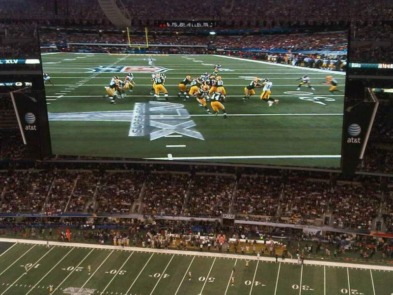 Seating view for AT&T Stadium Section 411