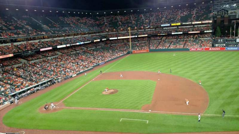 Oriole Park at Camden Yards, section: 320, row: 1, seat: 10
