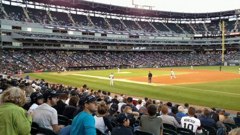 Seating view for Guaranteed Rate Field Section 118 Row 12 Seat 4