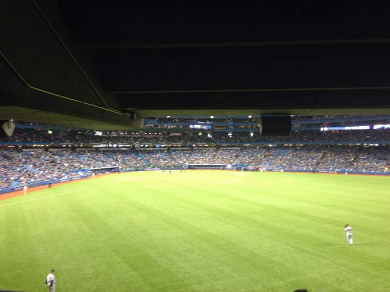Seating view for Rogers Centre Section 104L Row 12 Seat 107