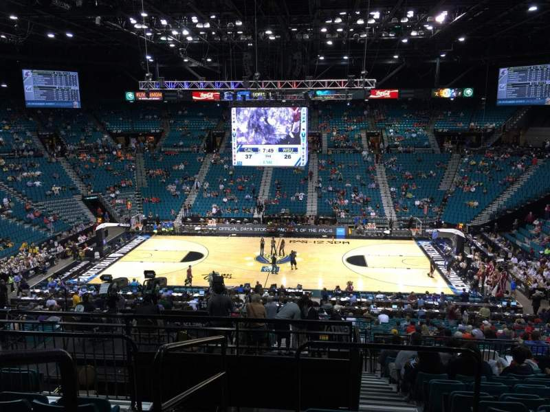 MGM Grand Garden Arena, section: 214, row: F, seat: 17