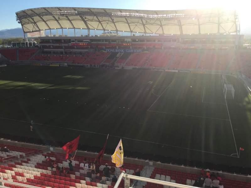 Rio Tinto Stadium, section: 234, row: C, seat: 16