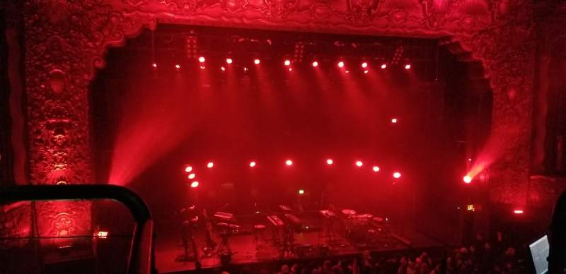 Seating view for Belasco Theater (Los Angeles) Section Platinum Balcony Row 2