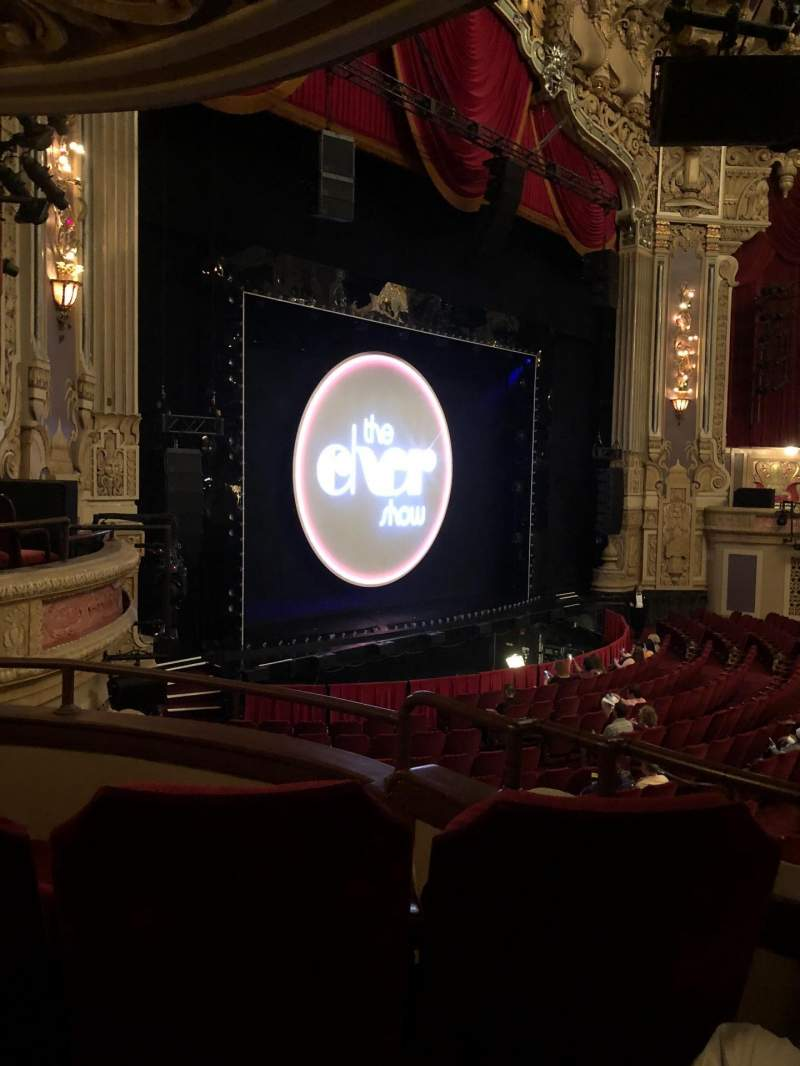 Seating view for James M. Nederlander Theatre Section Dress Circle L Row CC Seat 7