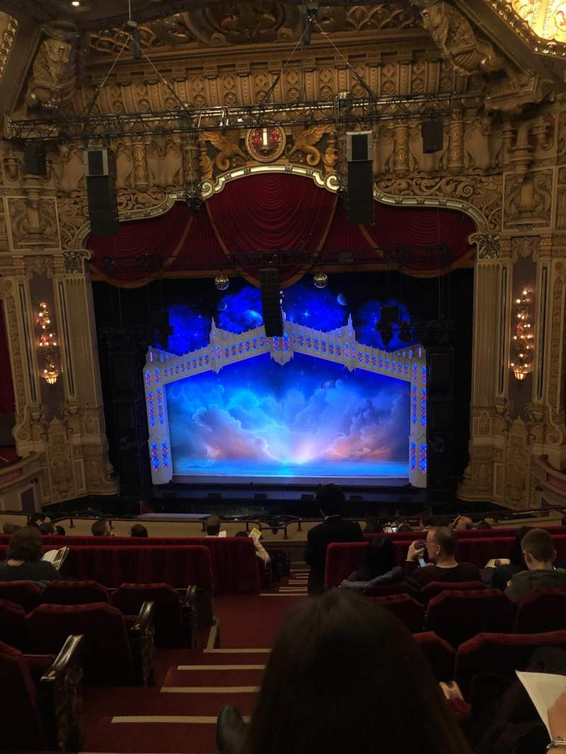 Seating view for James M. Nederlander Theatre Section Balcony RC Row K Seat 320