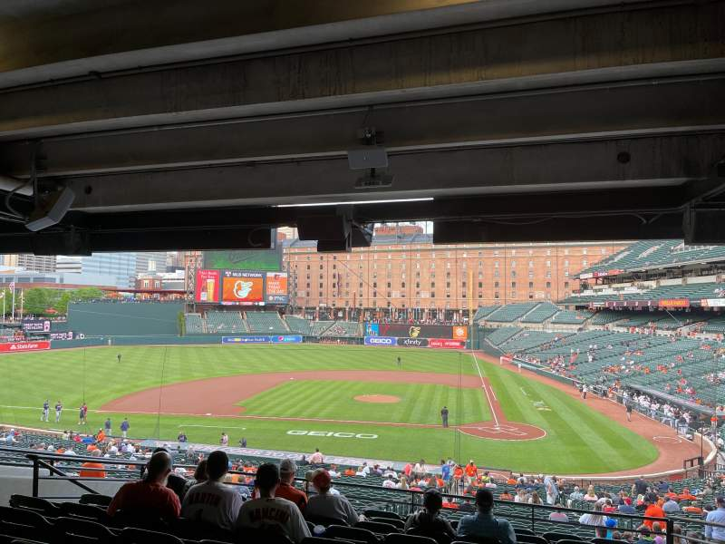 Seating view for Oriole Park at Camden Yards Section 47 Row 10 Seat 4