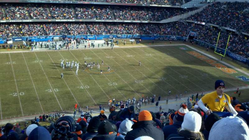 Seating view for Soldier Field Section 440 Row 22 Seat 15