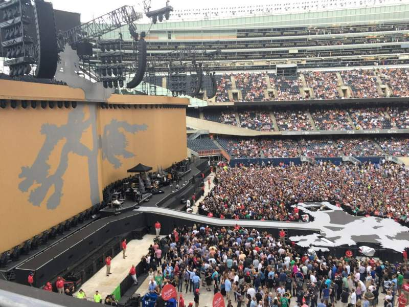 Seating view for Soldier Field Section 342 Row 1 Seat 15
